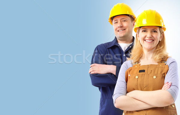 Stock photo: Contractor people