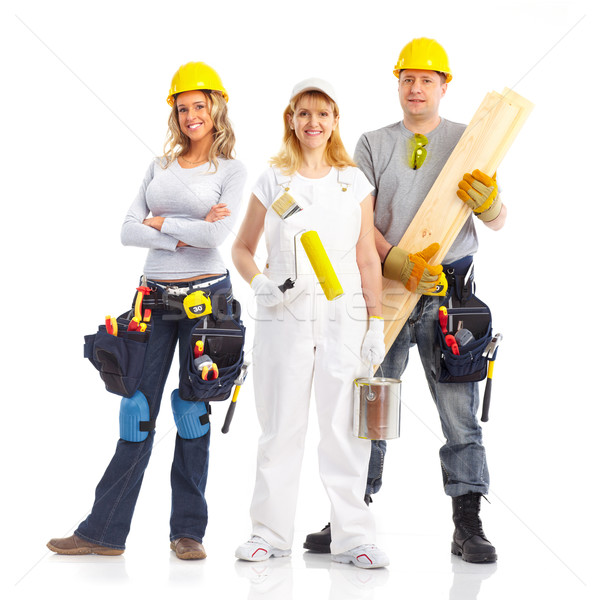 contractors workers people Stock photo © Kurhan