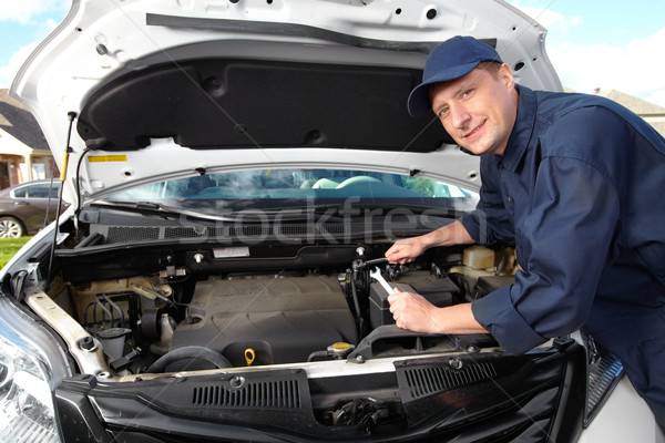 Professional auto mechanic. Stock photo © Kurhan