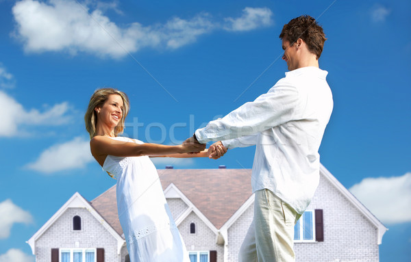Stock photo: Love couple
