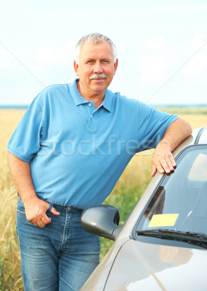 Elderly senior man Stock photo © Kurhan