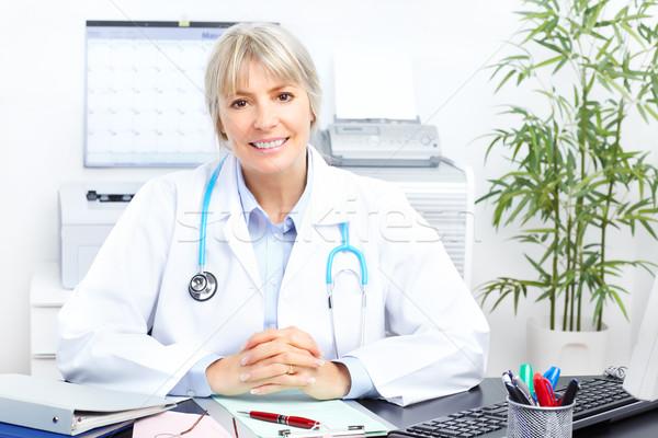 Medico medici donna ufficio business lavoro Foto d'archivio © Kurhan