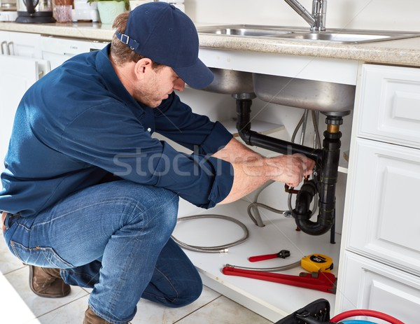Plumber. Stock photo © Kurhan