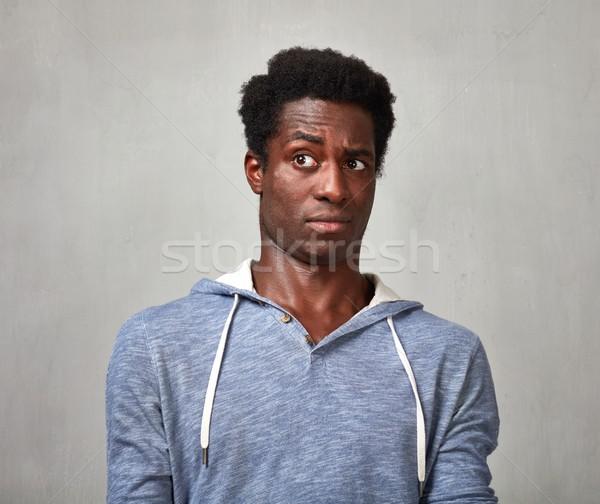 Man looking camera. Stock photo © Kurhan