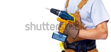 мастер на все руки дрель дома службе домой Сток-фото © Kurhan