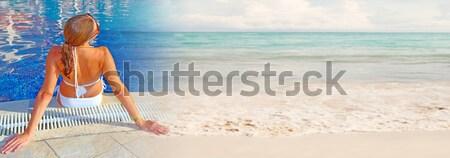Hot woman Stock photo © Kurhan