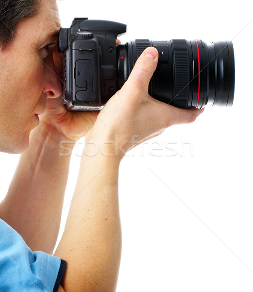Photographer Stock photo © Kurhan