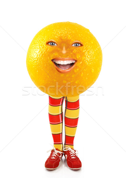 Funny Orange Stock photo © Kurhan