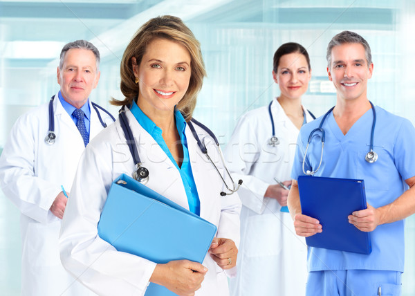 Medical doctors team Stock photo © Kurhan