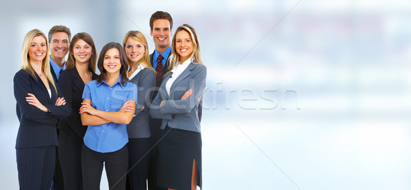 Group of business people. Stock photo © Kurhan
