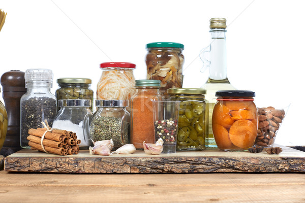 Pickle jar. Stock photo © Kurhan