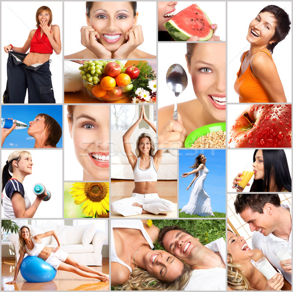 Healthy lifestyle Stock photo © Kurhan