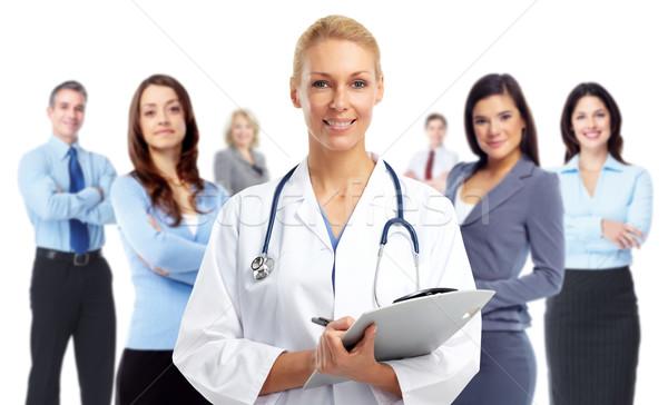 Young medical doctor woman. Stock photo © Kurhan