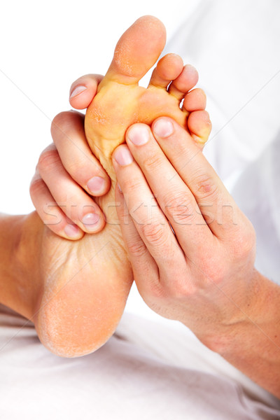 Feet massage. Stock photo © Kurhan