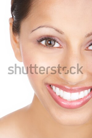 Beautiful woman portrait. Stock photo © Kurhan