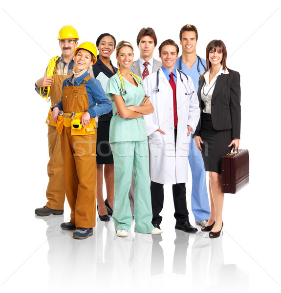 Stock photo: people