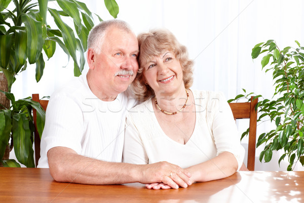 Stock photo: Senior couple.