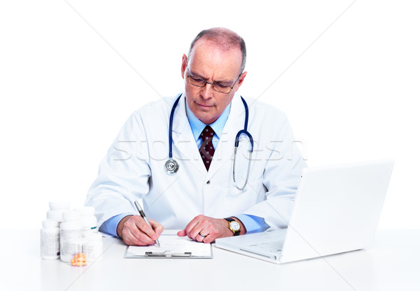 Medical doctor. Stock photo © Kurhan