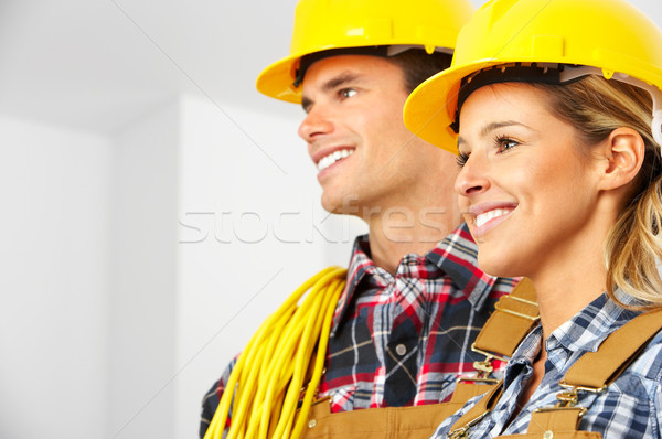 builders Stock photo © Kurhan
