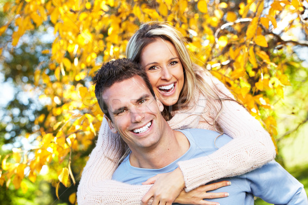 Stock photo: Happy couple.