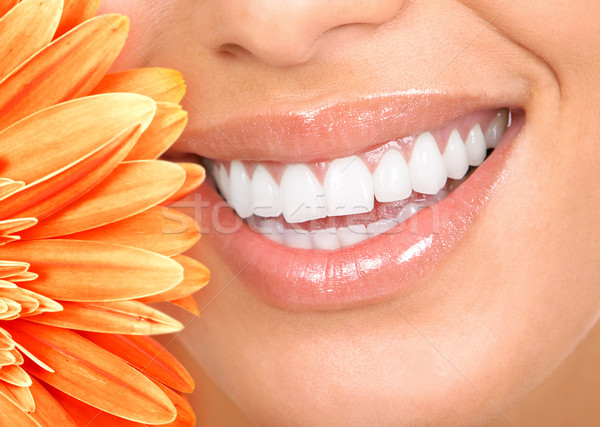 smile and teeth Stock photo © Kurhan