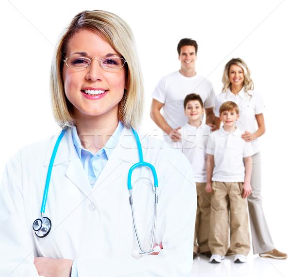 Family doctor woman. Stock photo © Kurhan