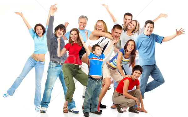 Happy people. Stock photo © Kurhan