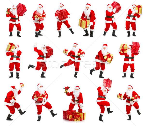 Happy Christmas Santa Stock photo © Kurhan