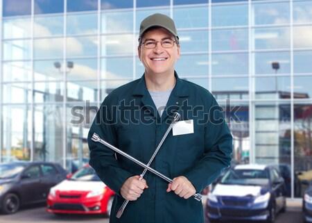 タイヤ レンチ ガレージ 自動車修理 サービス ストックフォト © Kurhan