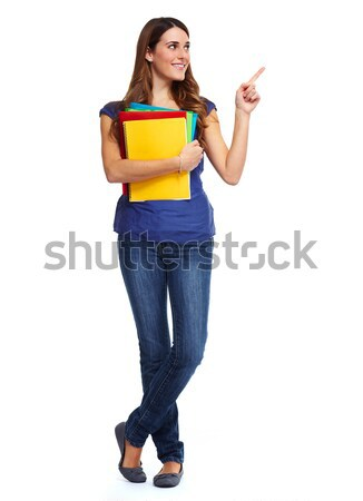 Student woman. Stock photo © Kurhan