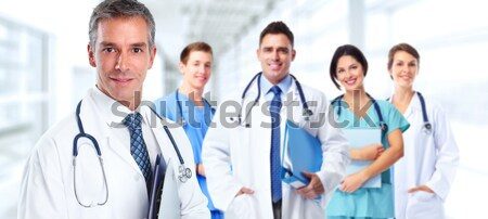 Doctors group Stock photo © Kurhan