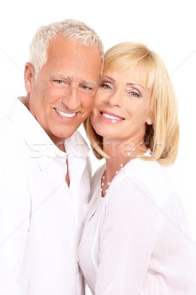 カップル 幸せ 愛 健康 歯 ストックフォト © Kurhan