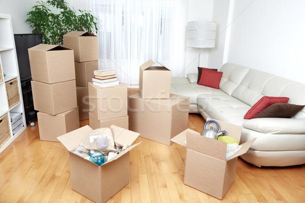 Nowego apartamentu nieruchomości domu Zdjęcia stock © Kurhan