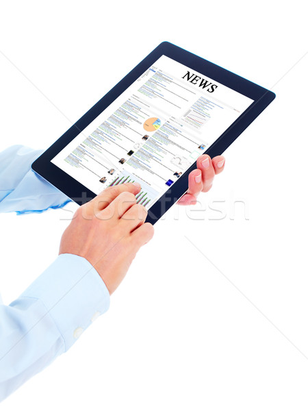 Tablet computer. Stock photo © Kurhan