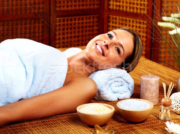 Spa massage. Stock photo © Kurhan