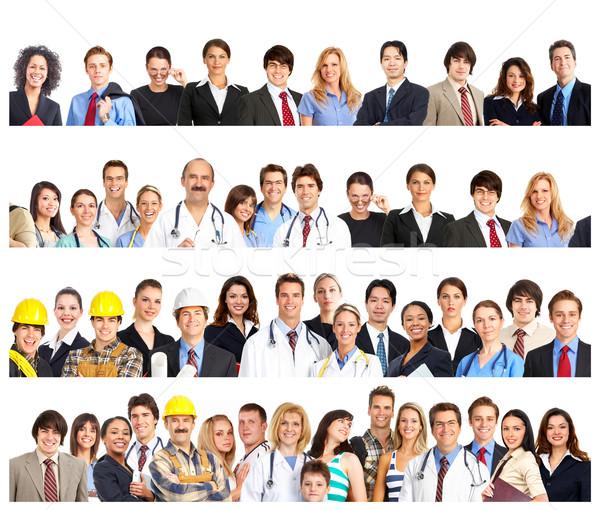 Stockfoto: Mensen · glimlachend · witte · vrouwen · gelukkig
