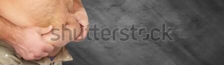 Obesity. Stock photo © Kurhan