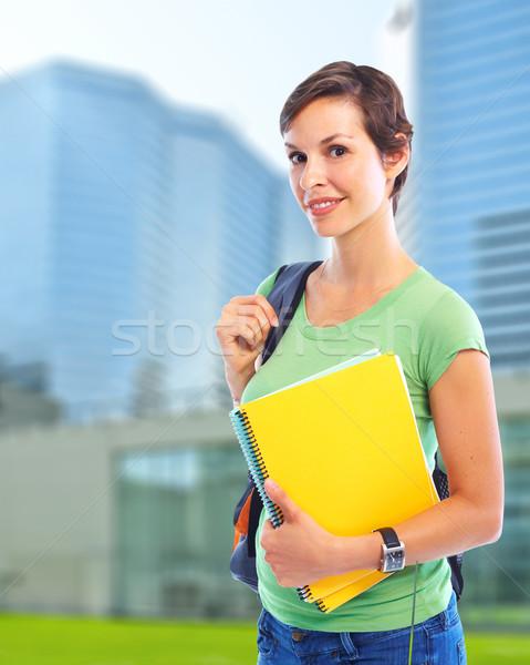Young student woman. Stock photo © Kurhan