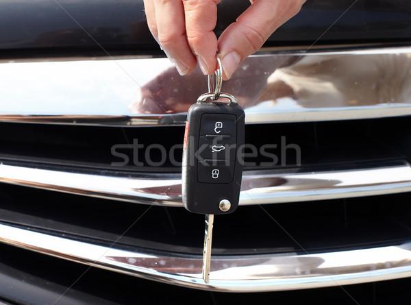 車のキー 自動 車 キー 腕 ストックフォト © Kurhan