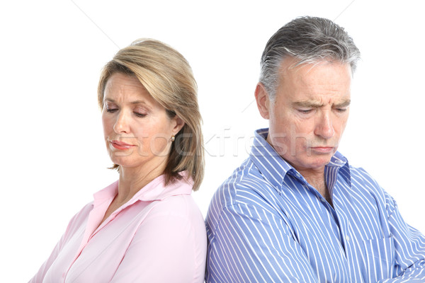 Divorce Stock photo © Kurhan
