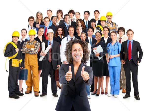 Imagine de stoc: Oameni · de · afaceri · femeie · de · afaceri · afaceri · calculator · birou · zâmbet