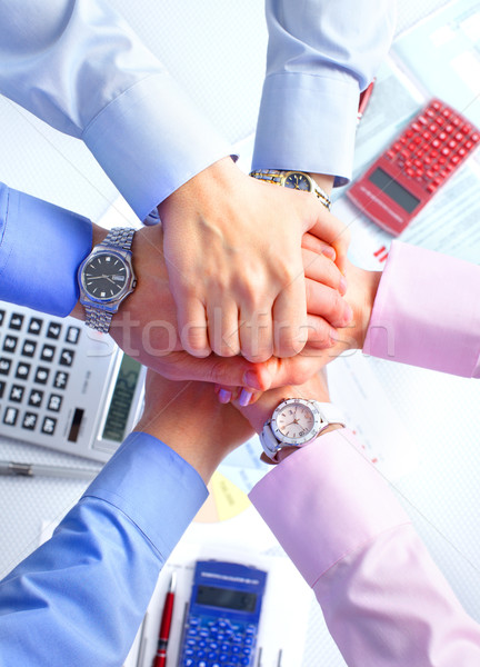 business team Stock photo © Kurhan