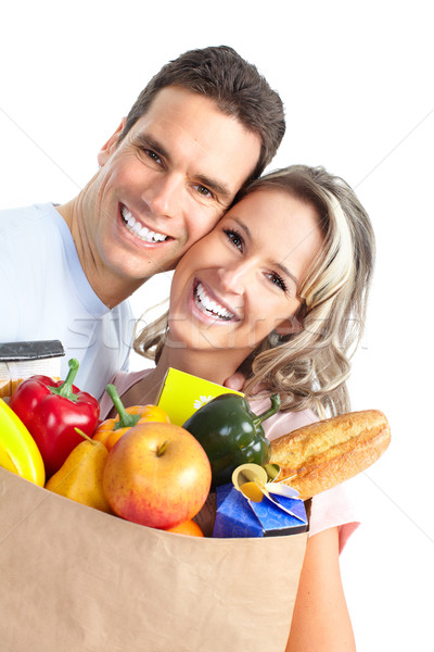 couple  with food Stock photo © Kurhan