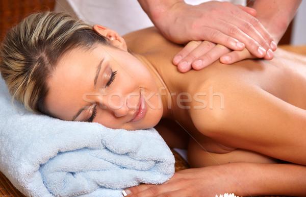 massage Stock photo © Kurhan