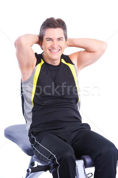 Fitness Stock photo © Kurhan