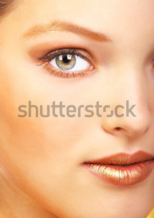 Beautiful woman face Stock photo © Kurhan