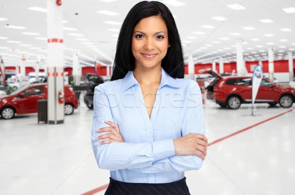 Car dealer. Stock photo © Kurhan