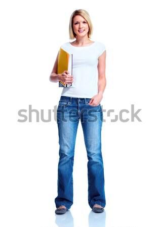Student girl. Stock photo © Kurhan