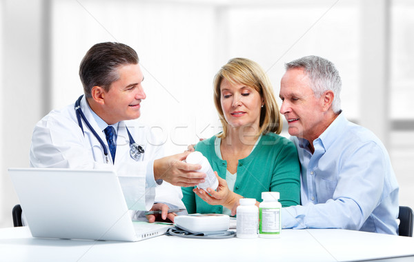 Doctor and a patient. Stock photo © Kurhan
