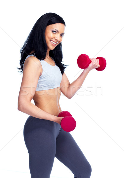 Fitness woman. Stock photo © Kurhan